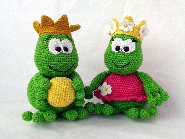 Frosch Häkeln Froschkönig Froschkönigin