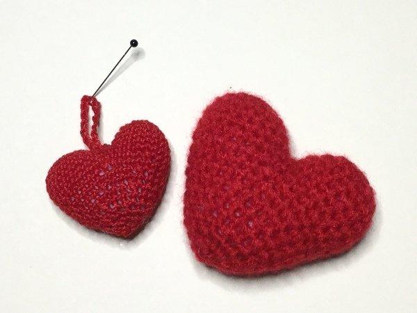 Gratis Herz Häkeln Kostenlose Anleitung