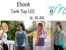 E-Book Tank Top Lee Gr. XS-XXL