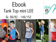 E-Book Tank Top mini Lee Gr. 86/91- 146/152
