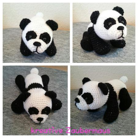 Panda Häkeln Klein Knuffig Must Have