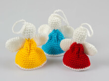 Amigurumi Dolls Angels Crochet Pattern DIY