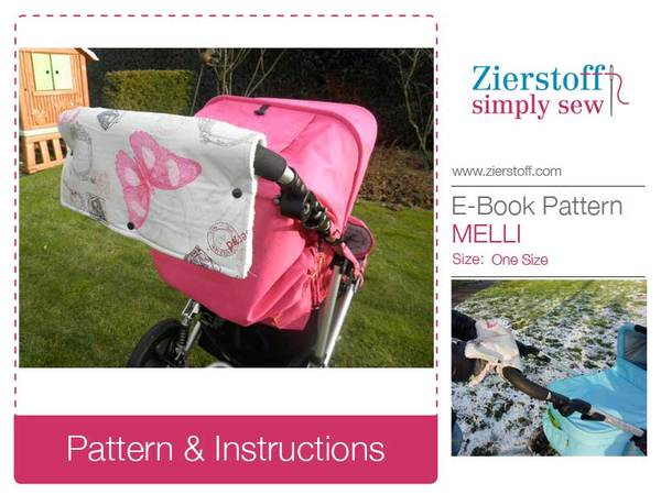Mellis hand warmer / changing pad combo for buggy/pram - free pattern-