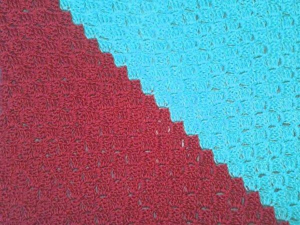Decke und Kissen zum Häkeln