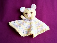"Mini Cuddly Blanket ""Teddy Bear"" - Crochet Pattern"