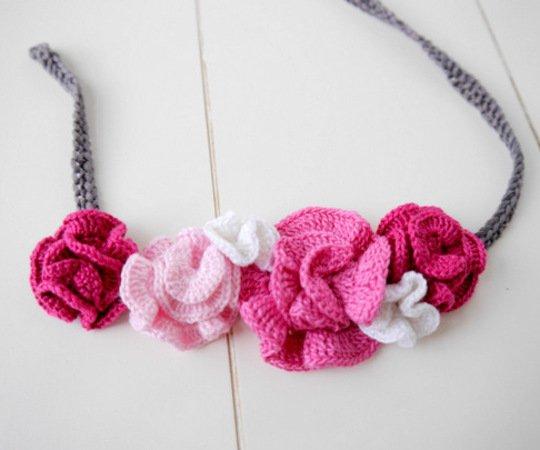 Haarband und Halskette einfach und schnell selber machen ...