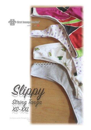 Slippy *** E-Book PDF-Datei String Tanga Slip Nähanleitung mit ...