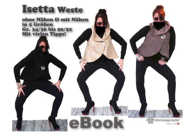 Isetta *** E-Book pdf-Datei Weste Jacke Nähanleitung mit ...