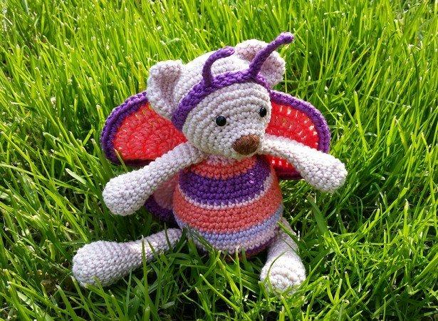 Amigurumi Häkeln Teddy Schmetterling Häkeln