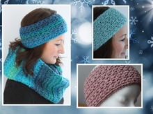 crochet pattern for a headband with stars