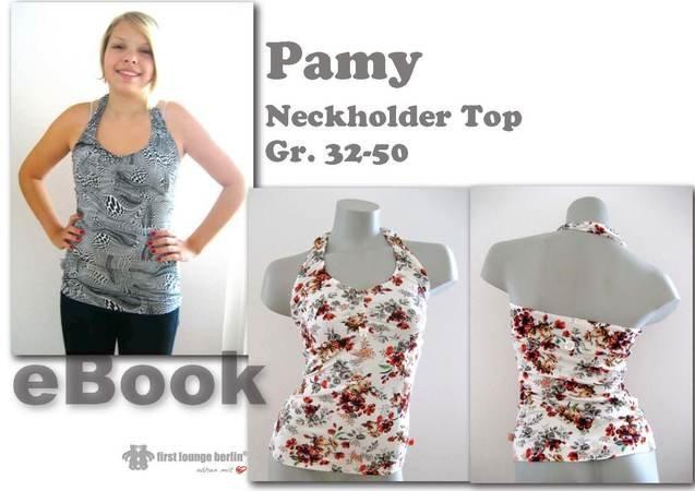 Pamy *** Shirt Neckholder Top E-Book Pdf-Datei in 10 Größen 32 bis ...