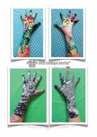Handschuhe nähen / alle Größen nähen // DIY