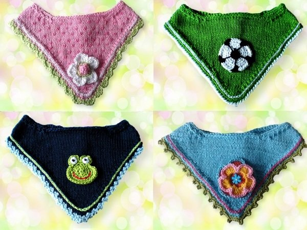 Bandana Knitting Pattern