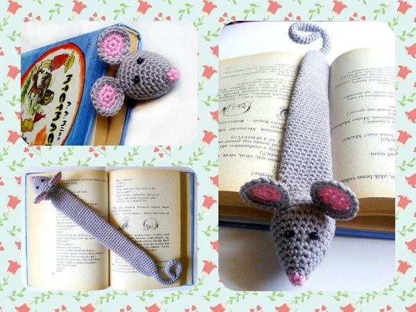 Lesezeichen Maus Häkeln Süße Maus Häkeln