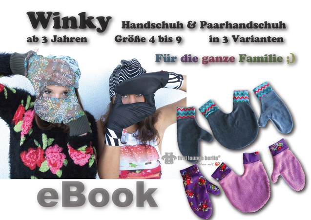 Winky *** E-Book Wende- Handschuhe & Paarhandschuh Pdf-Datei ...