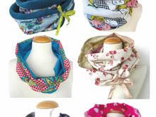 US-Lupi Loop *** E-Book file sewing instruction for a Loop Scarfs for the whole family size XS-XL idea & design from firstloungeberlin