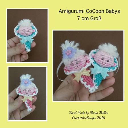 Amigurumi - Baby - Frühjahr / Sommer - Modelle & Anleit... | Katia.com | 450x450