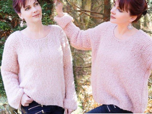 Pullover stricken Anleitung ganz einfach - herrlich leicht und ...