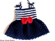 Sailor Dress Pattern Baby - Toddler