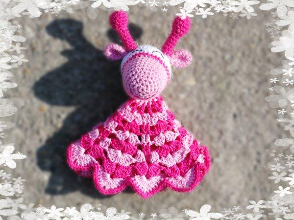 Giraffe Snuggle Crochet Pattern