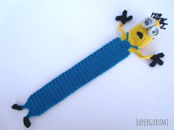 Webster the Elephant Bookmark Amigurumi Crochet Pattern | 450x600