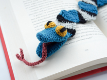 Amigurumi Crochet Snake Bookmark