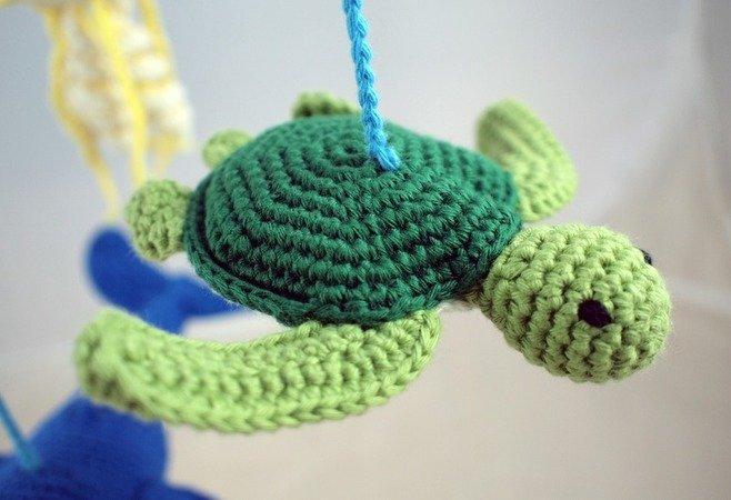 Schildkröte Häkeln Kuscheltier Deko Diy