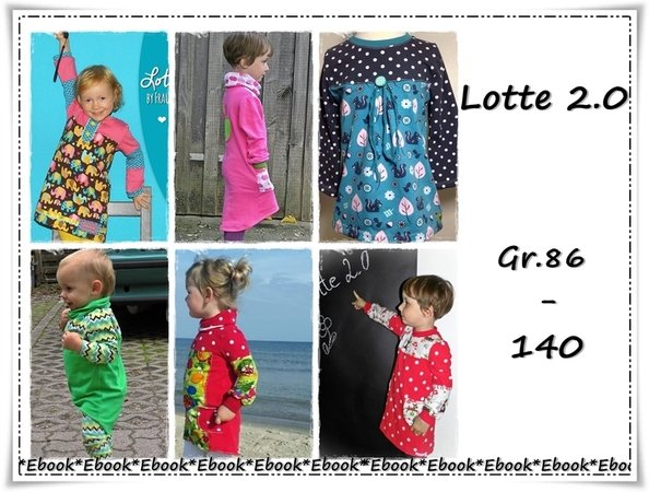 Lotte 2.0 , Kleid Gr.86-140