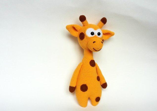 Giraffe häkeln / Stummelbein-Giraffe häkeln