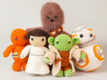Amigurumi Dolls Star Wars Set Crochet Pattern DIY Crochet Doll Pattern