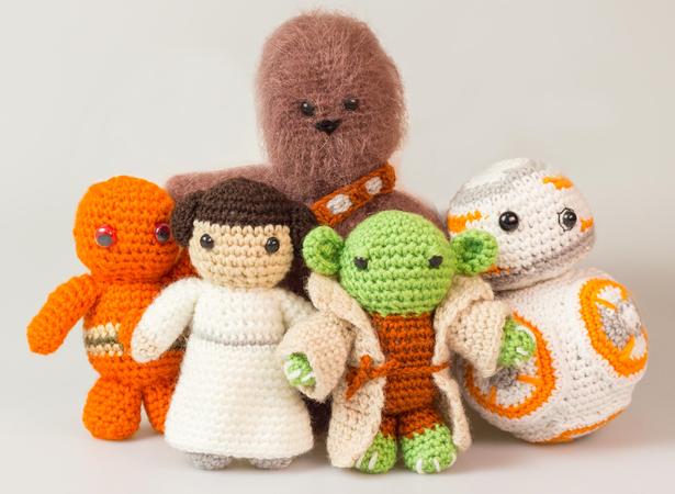 Amigurumi Puppen Star Wars Häkelanleitung Häkeln Diy
