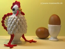 "Crochet Instruction Egg Warmer ""Friedolin"""