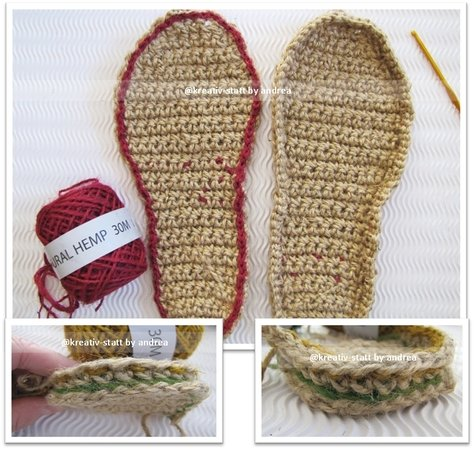 Espadrilles Ballerina With Strap All Sizes Crochet Pattern
