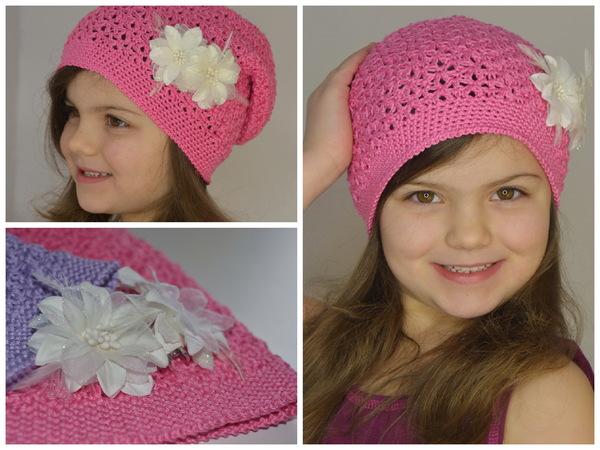Mütze Häkeln Damen Mädchentolles Muster