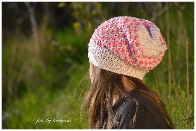 Mütze häkeln / Damen + Mädchen//tolles Muster