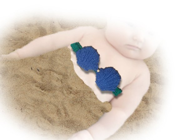 Mermaid Baby Knitted Top