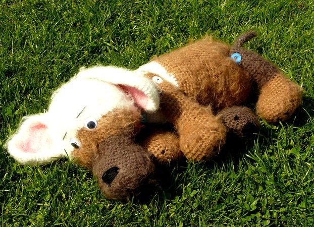 Amigurumi Anleitung Hund : Bruno valentinstags hund crochet anleitung pdf kein fertiges