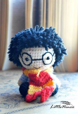 Harry Potter Amigurumi Crochet Pattern Diy Handmade Toy