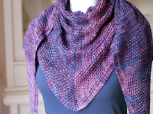Joanna - Triangle shawl