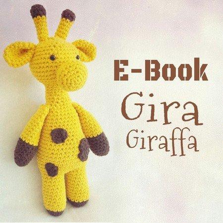 Giraffe Häkeln Süßes Bäuchlein Stehend