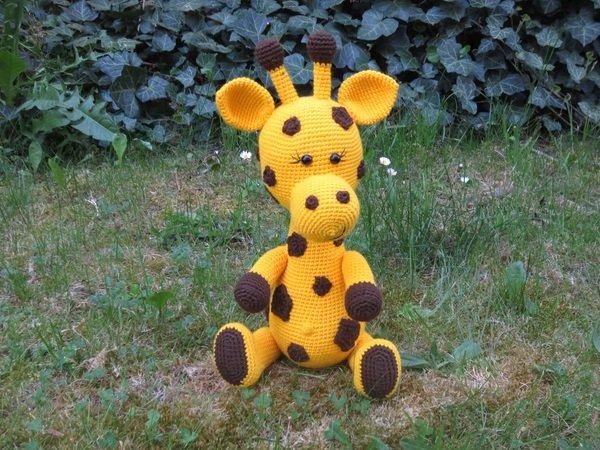 Giraffe Häkeln Gefleckt Niedlich Pdf