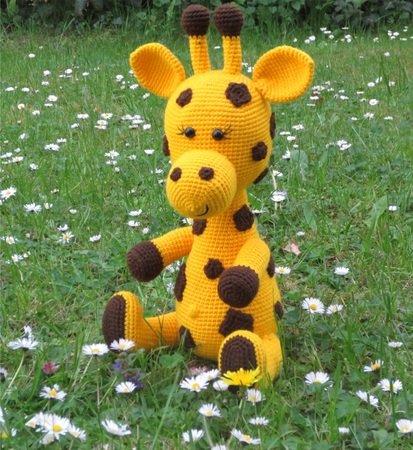 Giraffe häkeln // gefleckt ++ niedlich // PDF