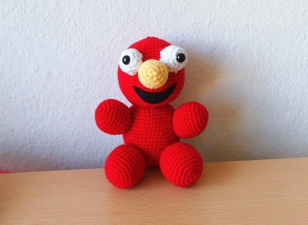 Elmo - Häkelanleitung