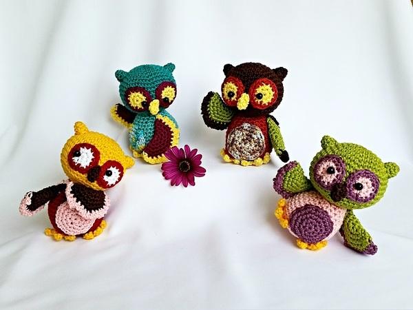Cute Cuddly Owl | AllFreeCrochet.com | 450x600