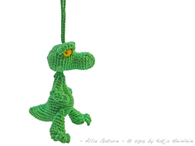 crochet pattern alligator crocodile