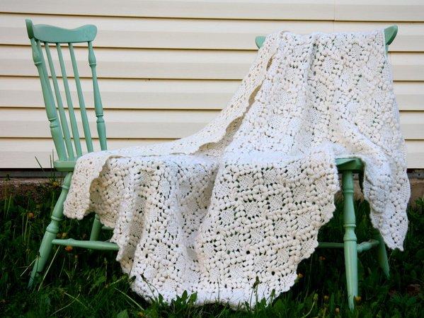Eine Decke zum Einkuscheln - Häkelanleitung