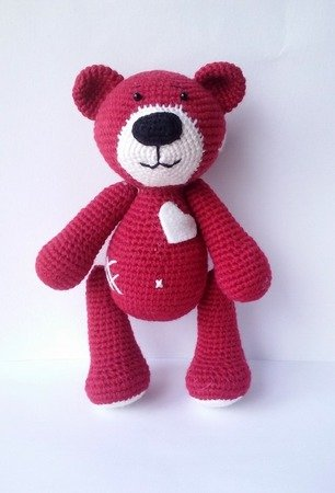 Free Teddy Bear crochet pattern - Amigurumi Today | 450x306