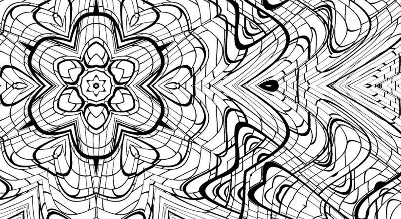 Mandala - Malseite für Erwachsene, zum Ausdrucken