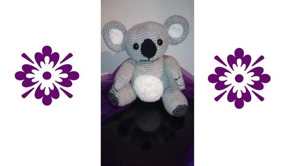 Koala hakeln /// Amigurumi + Babyspielzeug