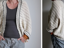 Jacket / cardigan as a rectangle, for beginners, all sizes, oversized - crochet pattern